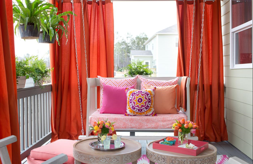 Curtains Can Make A House Beautiful